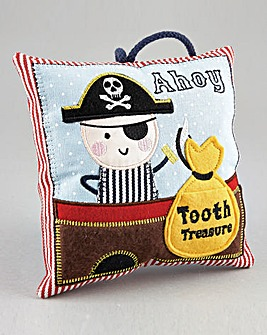 Pirate Toothfairy Cushion