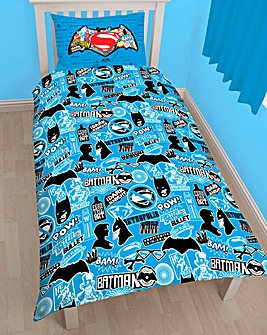 Batman Vs Superman Personalised Duvet