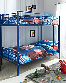 Oscar Metal Bunk Bed with Mattress