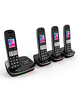 BT8600 Call Blocker Quad Phone