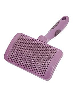 Self Cleaning Slicker Brush Medium