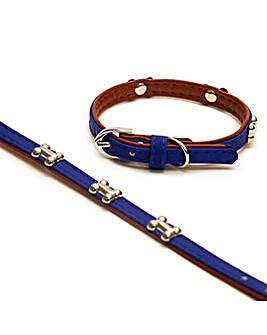 Wag N Walk Designer Royal Collar 8-10""