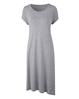 Grey Marl Side Split Tunic