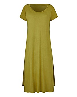Light Khaki Side Split Tunic
