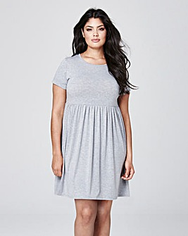 Jersey Babydoll Dress