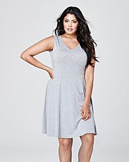 Jersey Skater Dress