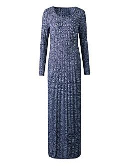 Rib Maxi Dress