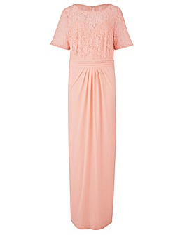 ITY Lace Bodice Maxi Dress