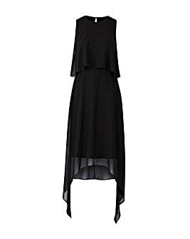 Asymmetric Chiffon Dress
