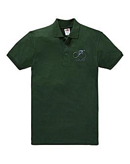 Personalised Cycling Polo Shirt