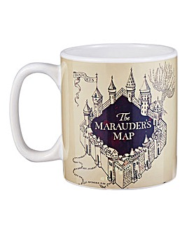 HP Heat Changing Marauders Map Mug