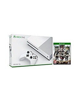 Xbox One S 500gb White Inc For Honor