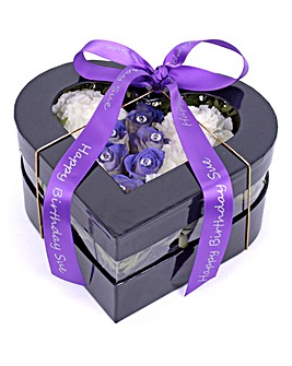 February Amethyst Birthstone Bouquet