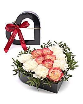 July Ruby Birthstone Bouquet