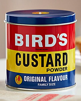 Birds Custard Tin Canister