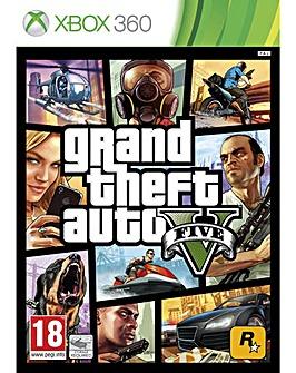 Grand Theft Auto V - GTA V Xbox 360