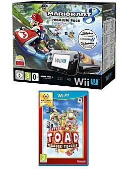 WiiU Mario Kart + Captain Toad: TT