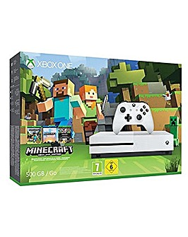 XBOX ONE S 00gb + Minecraft