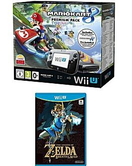 WiiU Mario Kart + Zelda: Breath of Wild