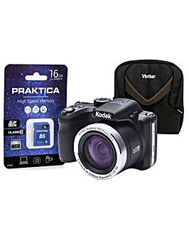 Kodak PIXPRO AZ422 Black Camera Kit