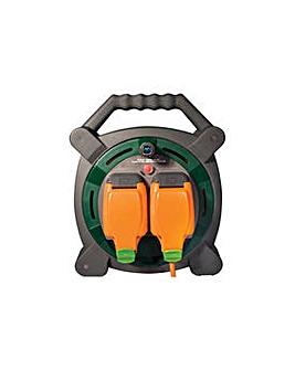 Masterplug 15 Metre Waterproof Case Reel
