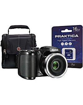 Kodak PIXPRO AZ252 Bridge Camera Kit