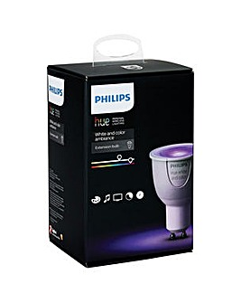 Hue White & Color Ambiance Single GU10