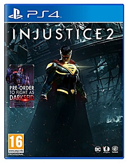 Injustice 2 Inc Darkseid DLC PS4
