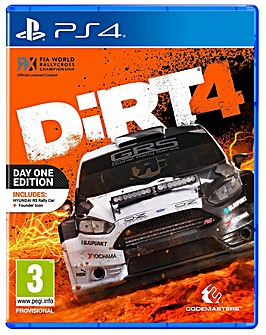 Dirt 4 - Day 1 Edition PS4