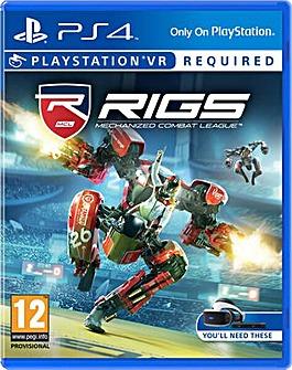 RIGS Mechanized Combat League PS VR