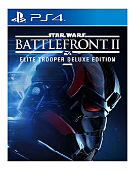 Star Wars Battlefront 2 Deluxe Edtn PS4