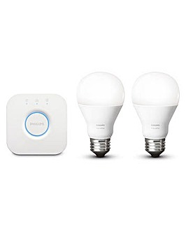 Hue White Starter kit UK/EU (E27)