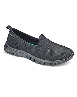 Cushion Walk Slip on Trainers EEE Fit