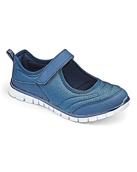 Cushion Walk Mary Jane Trainers E Fit