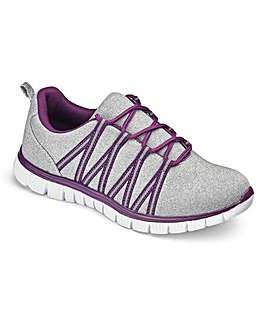 Cushion Walk Lace Trainers E Fit