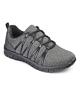 Cushion Walk Lace Trainers EEE Fit