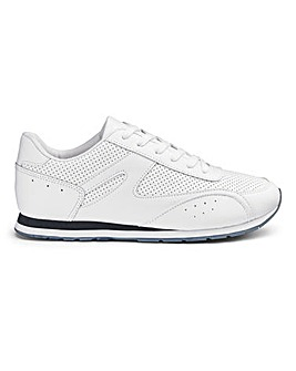 Cushion Walk Lace Trainers Wide Fit