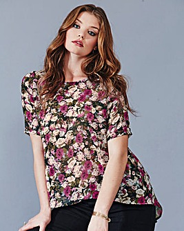 Alice And You Pink Floral Top