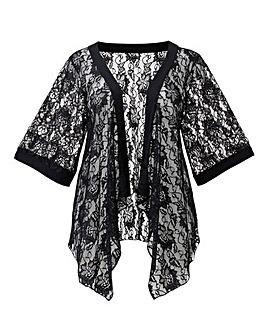 AX Paris Black Lace Cover Up