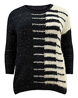 Koko Fluffy Glitter Knitted Jumper