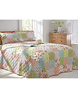 Elsie Patchwork Pint Bedspread Set
