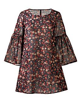 AX Paris Ditsy Print Swing Dress