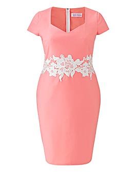 Paperdolls Lace Waist Dress