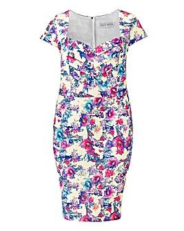 Paperdolls Floral Print Dress