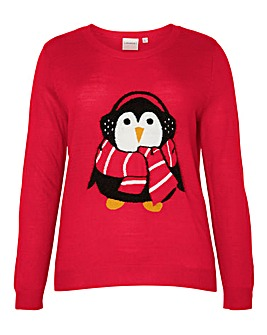 Junarose Penguin Knit Jumper