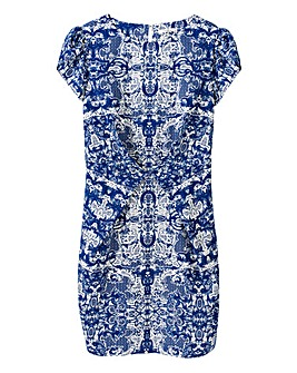 Darling China Print Dress