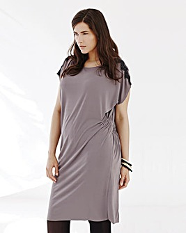 Elvi Grey Lace Dress