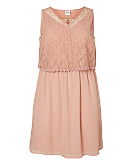 Junarose Lace-Top Dress
