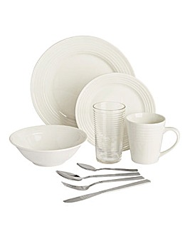 Aria Porcelain 20 Piece Starter Set