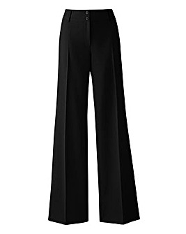 Pack of 2 Wide Leg Trousers Long